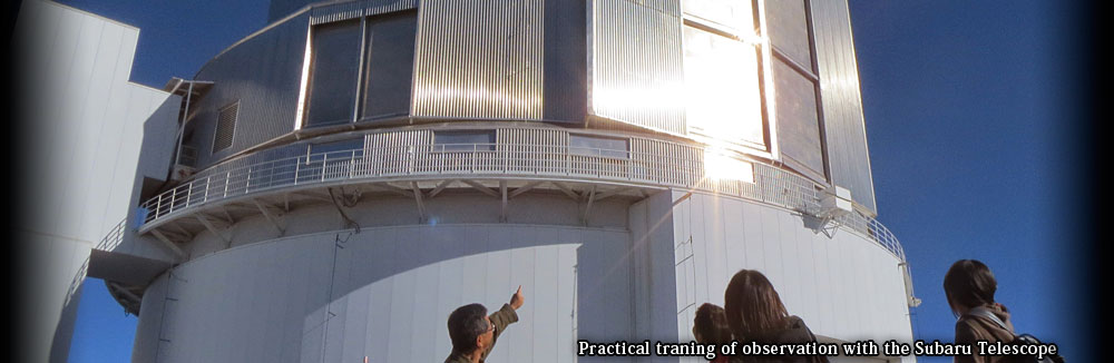 Practical traning of observation with the Subaru Telescope2